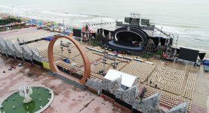 Lộ diện sân khấu hoành tráng Chung khảo phía Bắc HHVN 2018 trước giờ G - ảnh 2