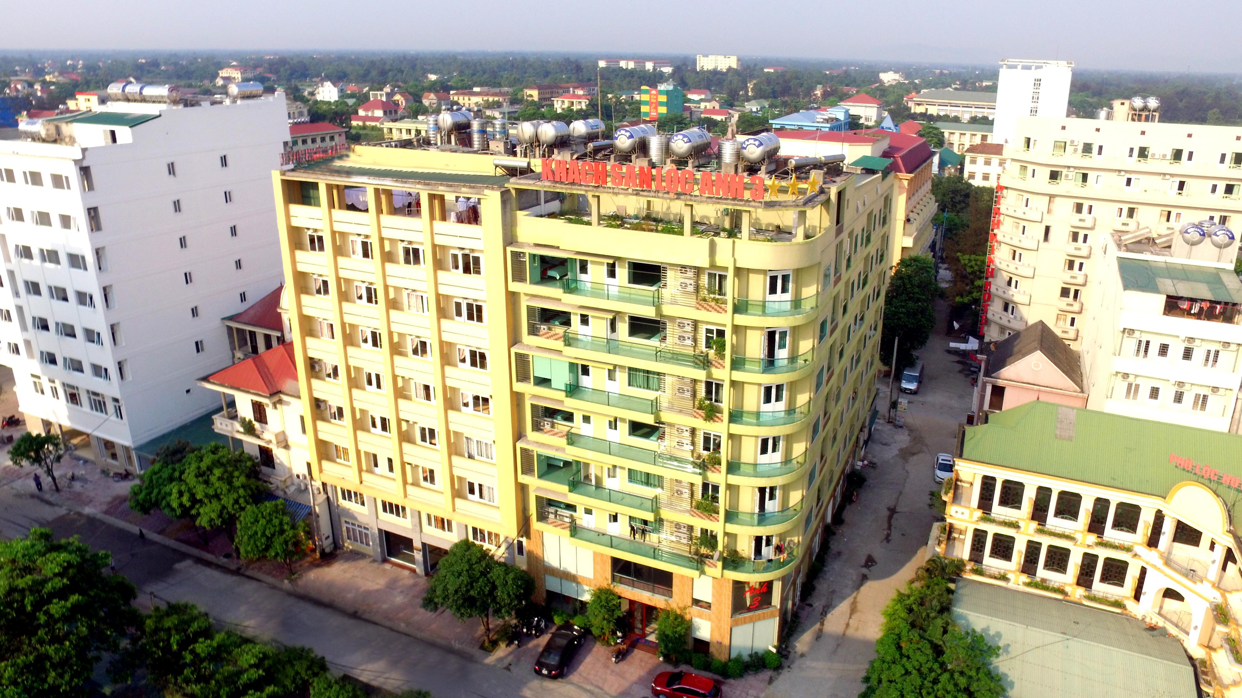 Toàn cảnh khách sạn Lộc Anh 3
