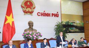 Phó Thủ tướng Thường trực Trương Hòa Bình phát biểu chỉ đạo tại cuộc họp về khắc phục sự cố môi trường 4 tỉnh miền Trung. Ảnh: VGP/Lê Sơn