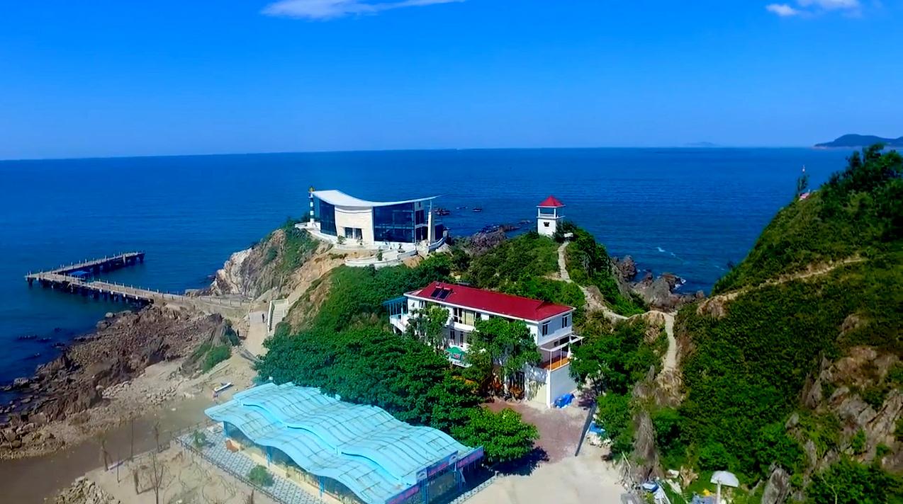 Toàn cảnh đảo Lan Châu trên cao