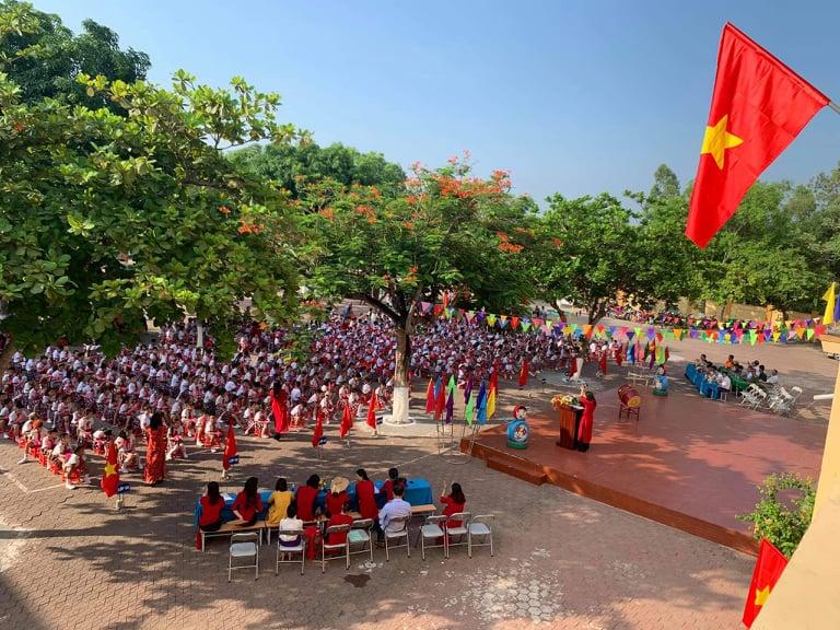 Trường tiểu học Nghi Hòa khai giảng năm học mới 2020 – 2021